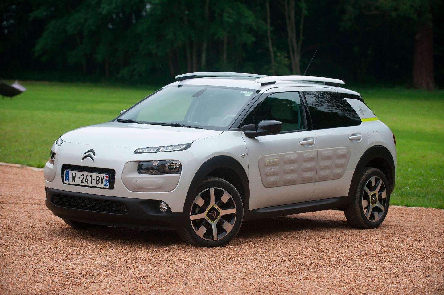 The Citroen Advanced Comfort Lab prototype vehicle is based on a C4 Cactus