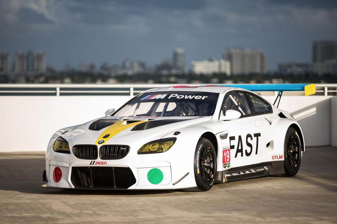 The new BMWM6GTLM Art Car joins a long line of vehicles worked on by famous artists