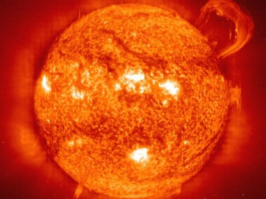 Nuclear fusion, just like the sunPhoto: SOHO-EIT Consortium, ESA, NASA