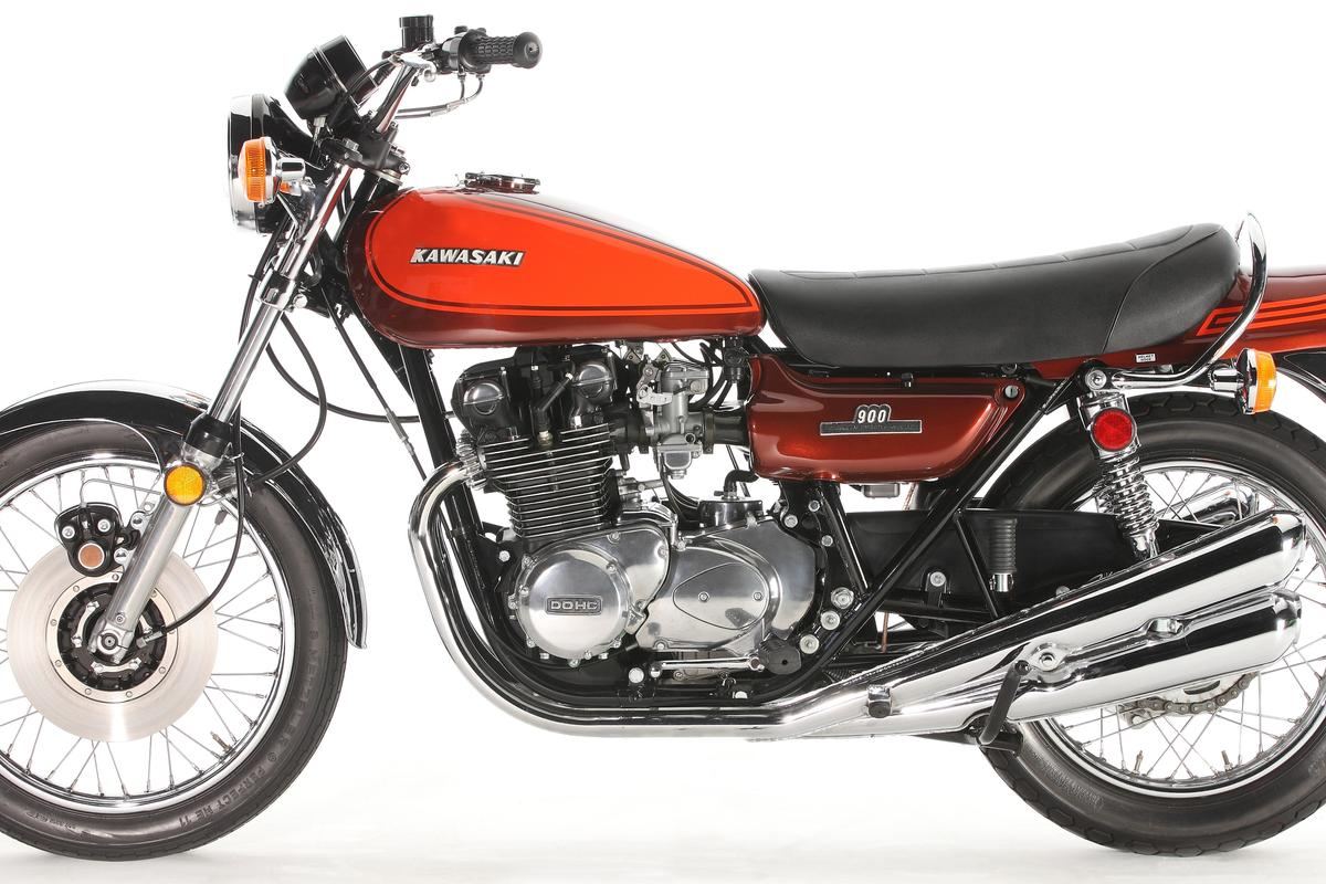 The original Z1 Kawasaki - 82 bhp and 903cc