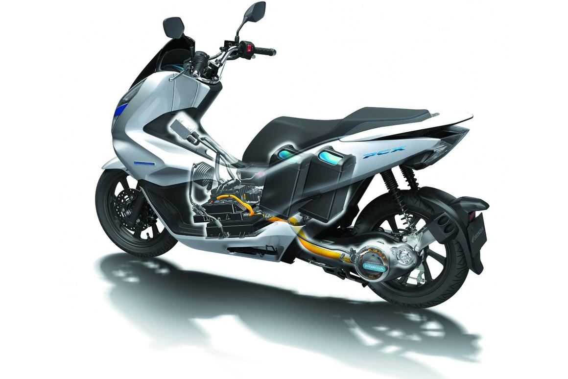 Japan's big four announce consortium for electric motorcycle