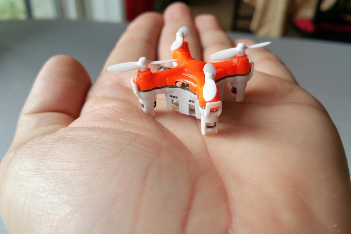 The Axis Drones Aerius quadcopter has easy-operation, with only the propellers and power switch as the moving parts
