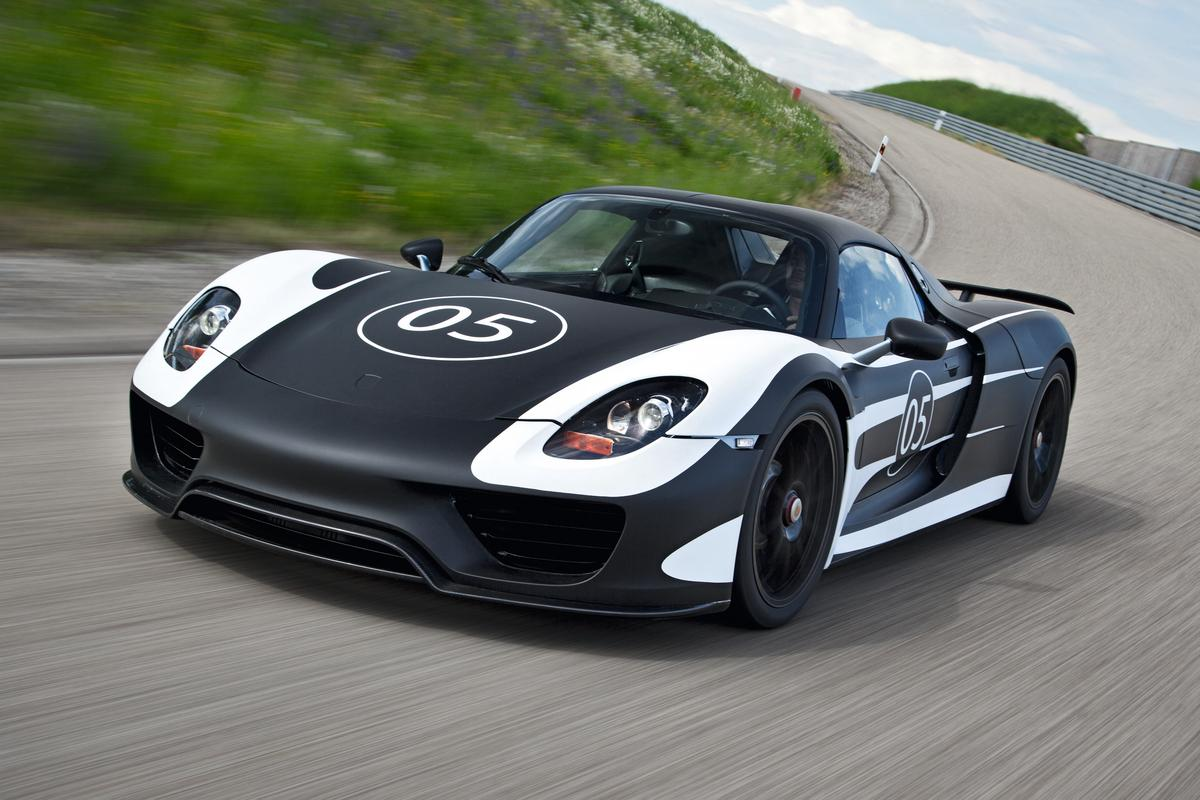 The latest images of the 918 Spyder