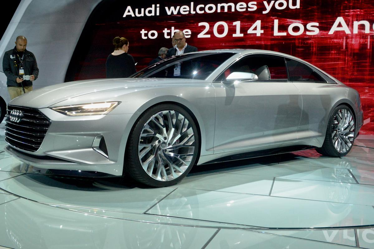 The all-new Audi Prologue at the LA Auto Show (Photo: C.C. Weiss/Gizmag)