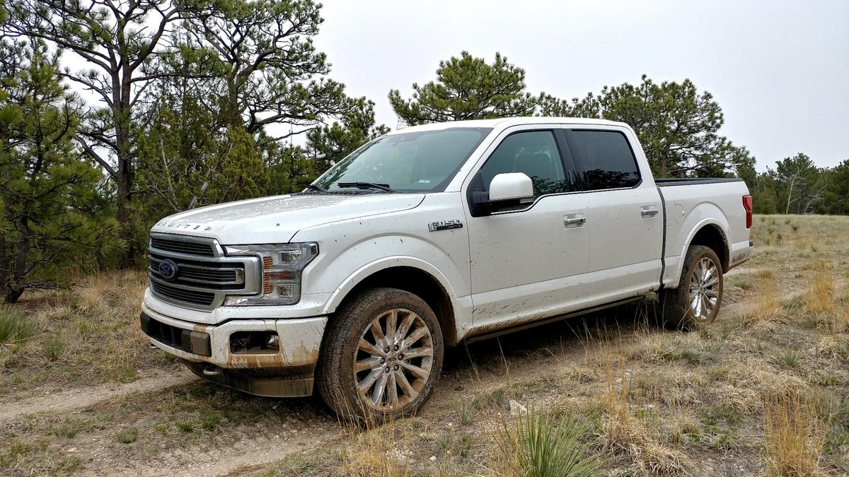 The F-150 Limited modelaims for a luxury format andsits at the top of the pickup model's pyramid of trim options