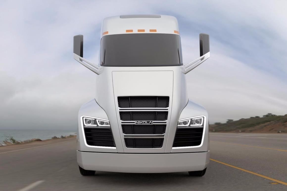 The Nikola Semi has changed powertrain: it'll now draw on a hydrogen fuel-cell