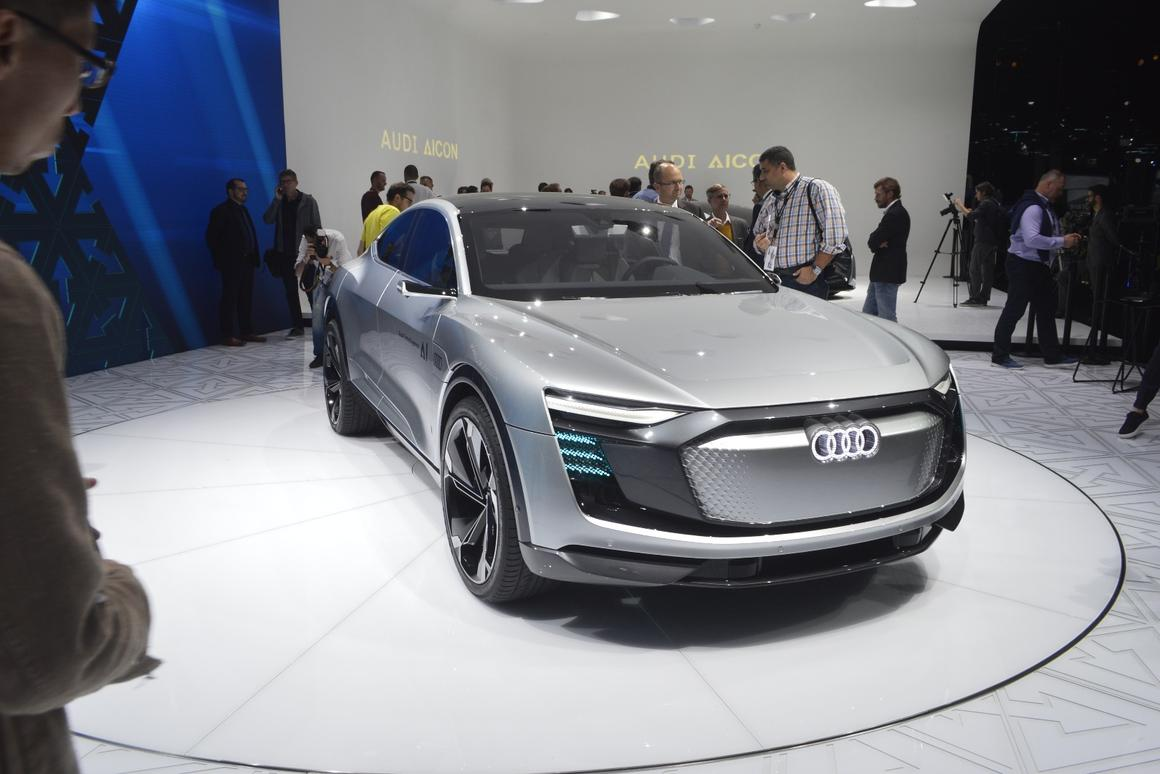 The AudiElaine concept, launched at the Frankfurt Motor Show