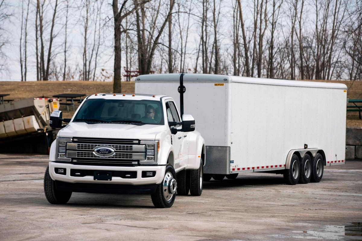 The 2017 Super Duty is due to go on sale later this year