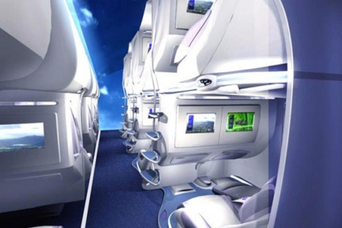 Mario Martinez Celis' aircraft seating design