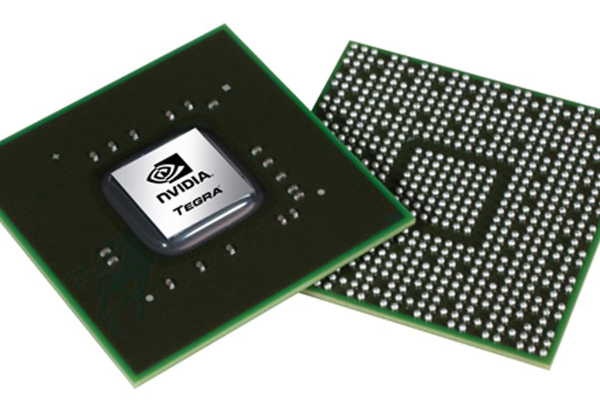 The NIVIDIA Tegra 2 dual-core processor that will power LG's new Optimus Series smartphones