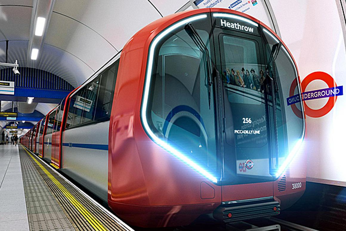 The new trains feature wider doors and walk-through carriages