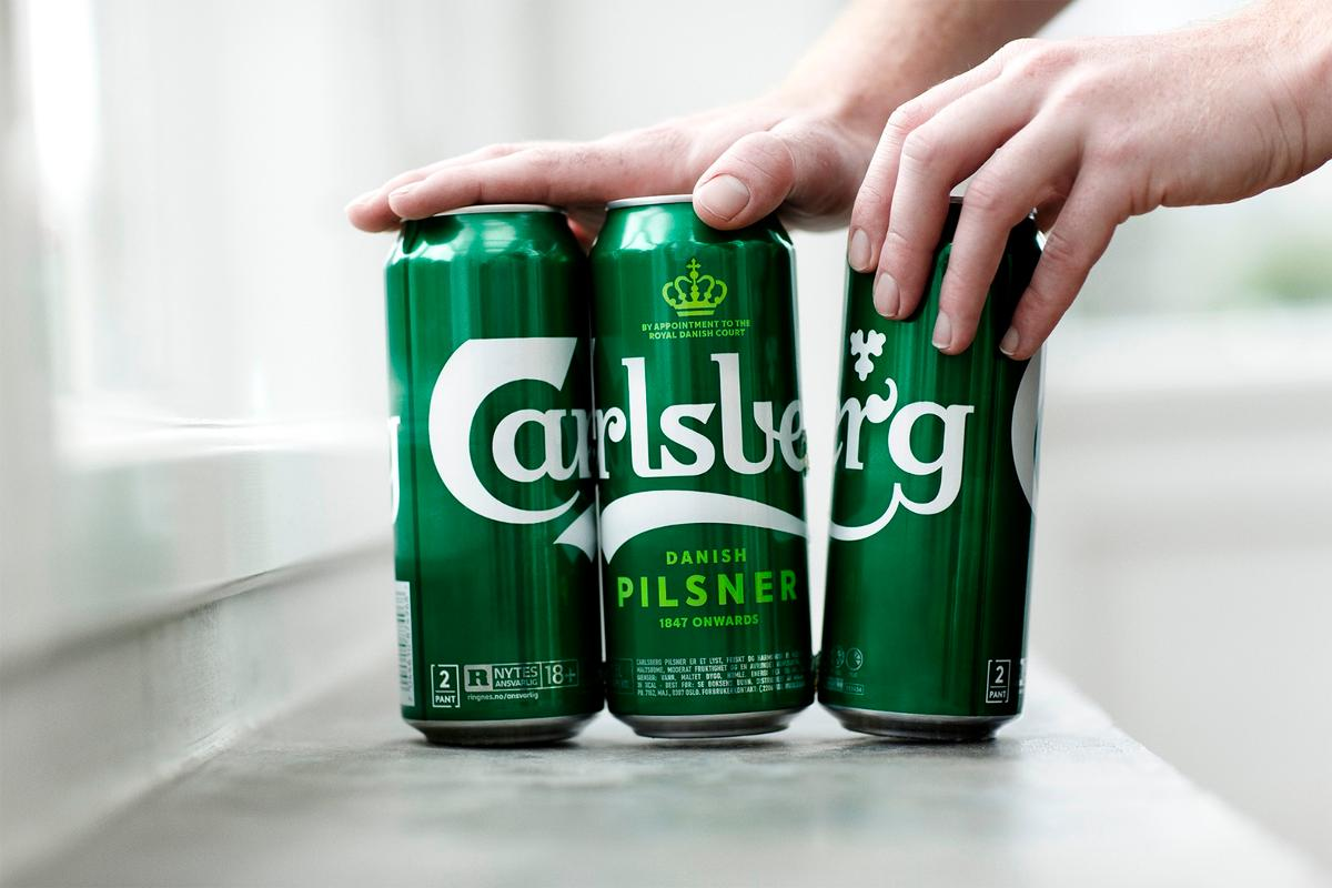 Danish beermaker Carlsberg's six-packs will now be glued together as the Snap Pack