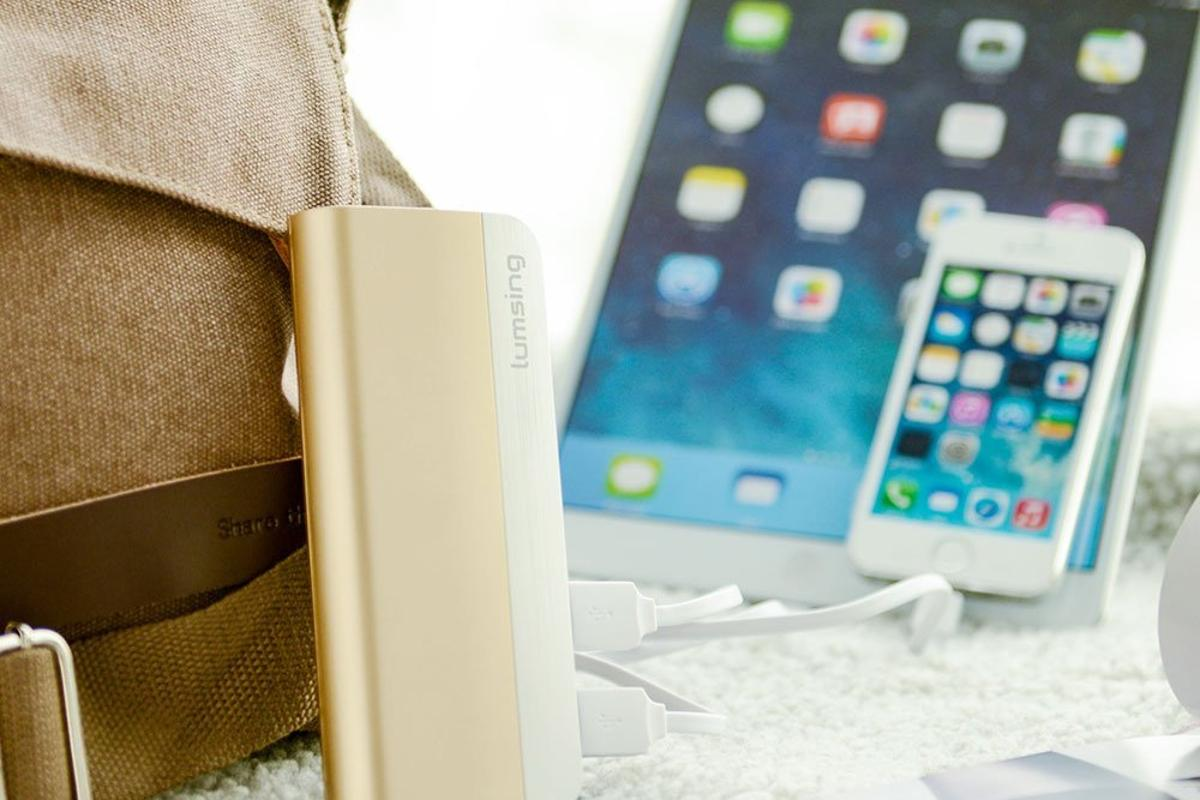 The Lumsing Power Bank balances portability with power