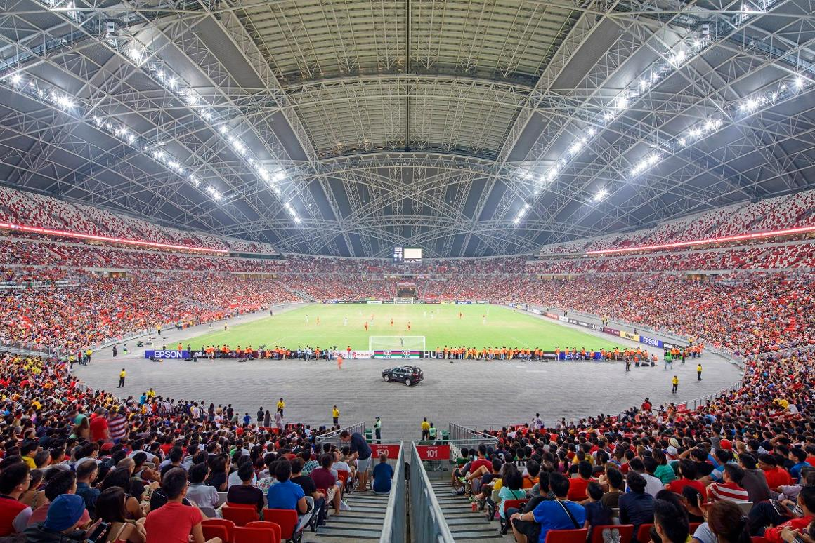 Singapore Sports Hub, Kallang, Singapore (by Arup)