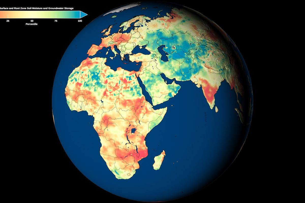 A clearer picture of groundwater around the world could become an important tool in managing water security