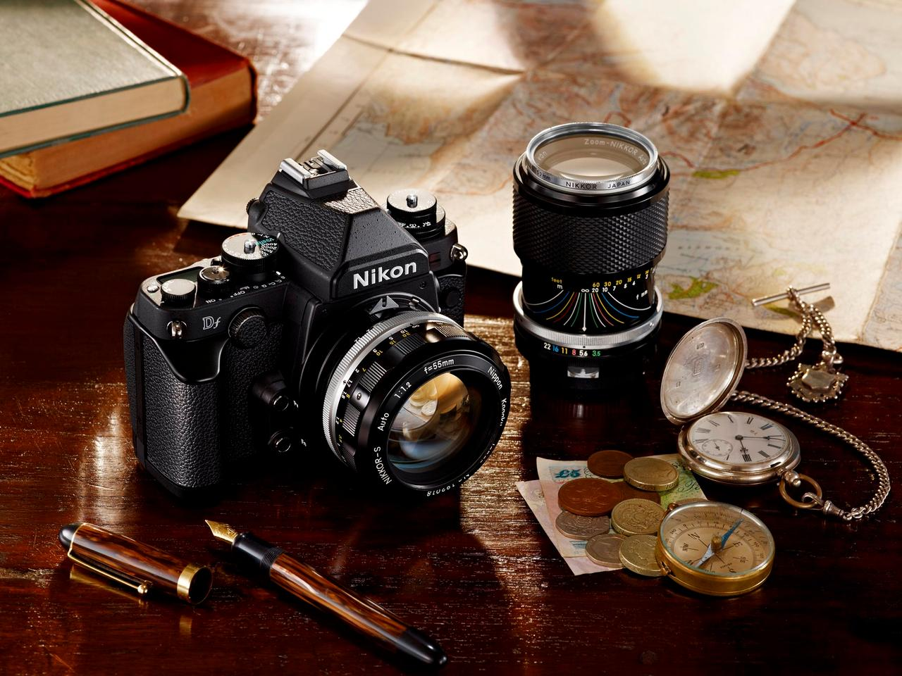 The Df is compatible with virtually all Nikon F-mount lenses
