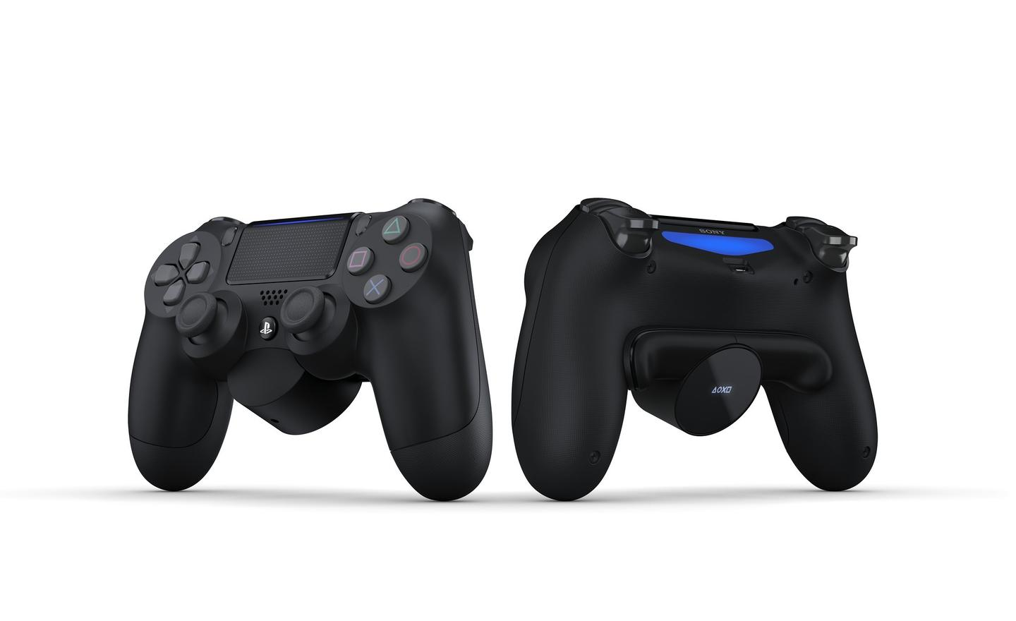 Sony has unveiled the Back Button Attachment for the PS4 controller