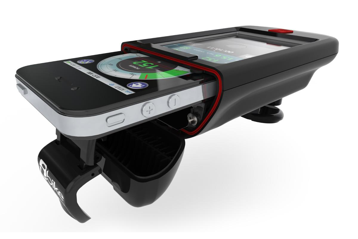 Velocomp's iBike Dash CC allows cyclists to turn their iPhone or iPod touch into a cycling computer (Photo: Velocomp)