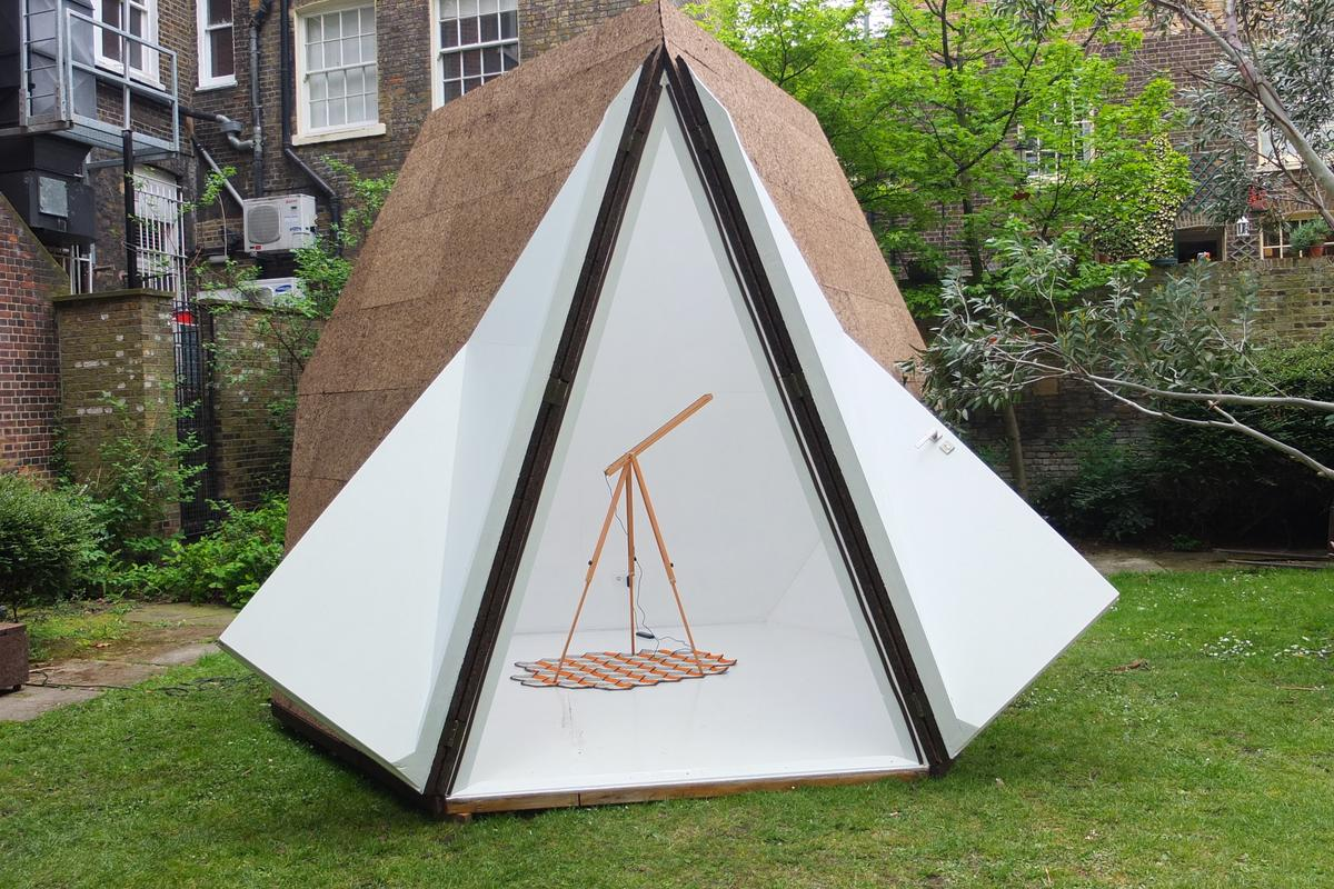 Tetra-Shed putting in a welcome appearance at this year's Clerkenwell Design Week (Photo: Gizmag)