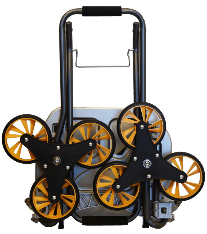 Once the carting is complete, the 8-lb (3.6 kg) UpCart City can be folded flat in a matter of seconds
