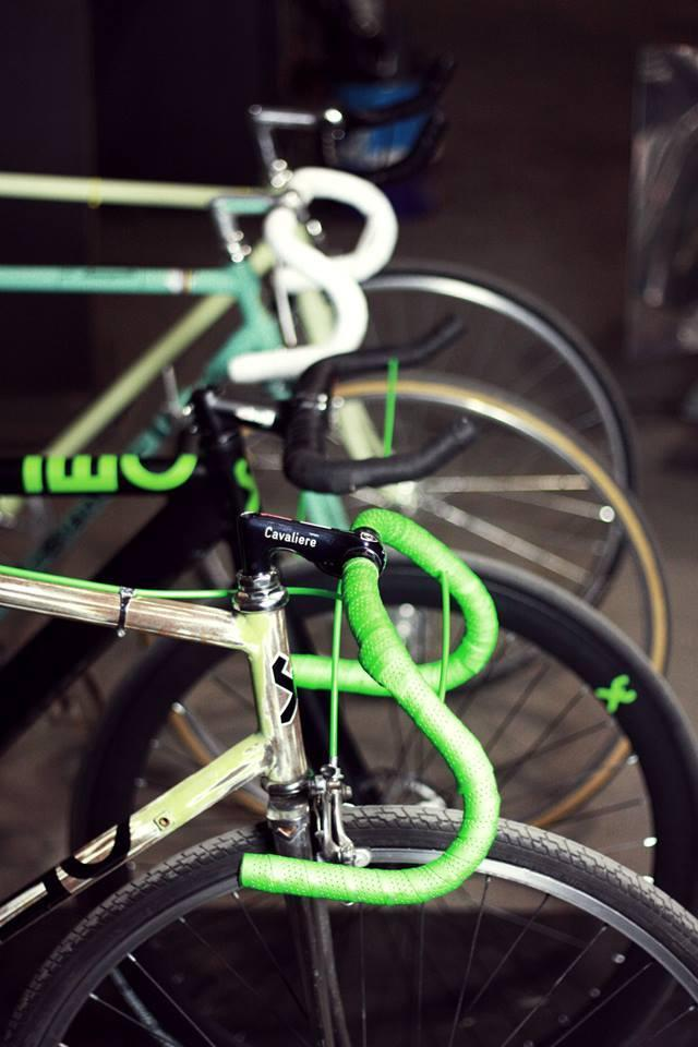 The Wire Brake also works on drop bars