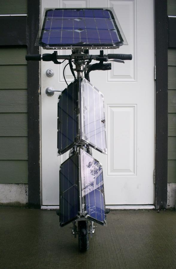 Terry Hope's KPV solar-electric scooter