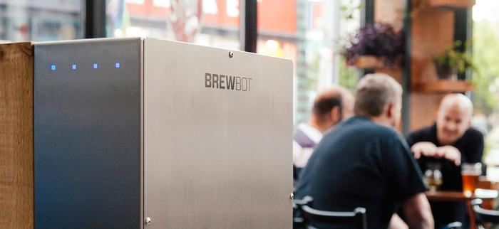 Brewbot in Bailey's Taproom, Portland, Oregon