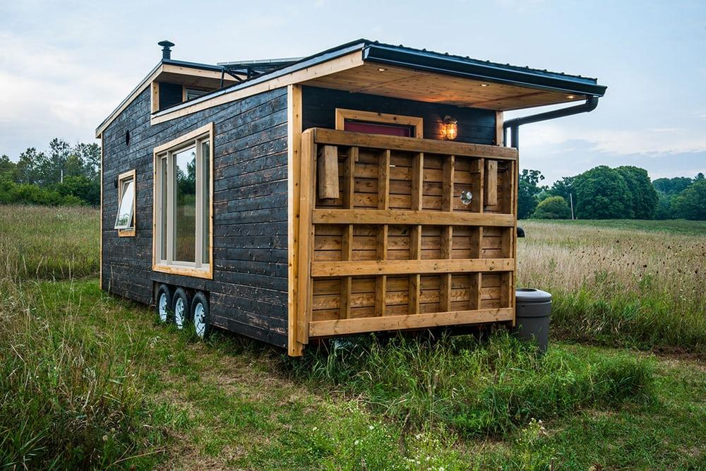 Canadian green living proponent Greenmoxie made a very strong start with its debut eponymous tiny house