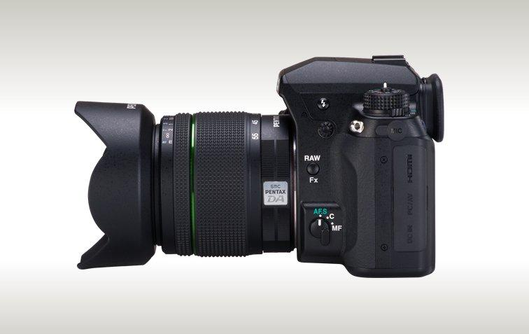 The K-5 features support for both its own PEF and Adobe's DNG 14-bit RAW file formats