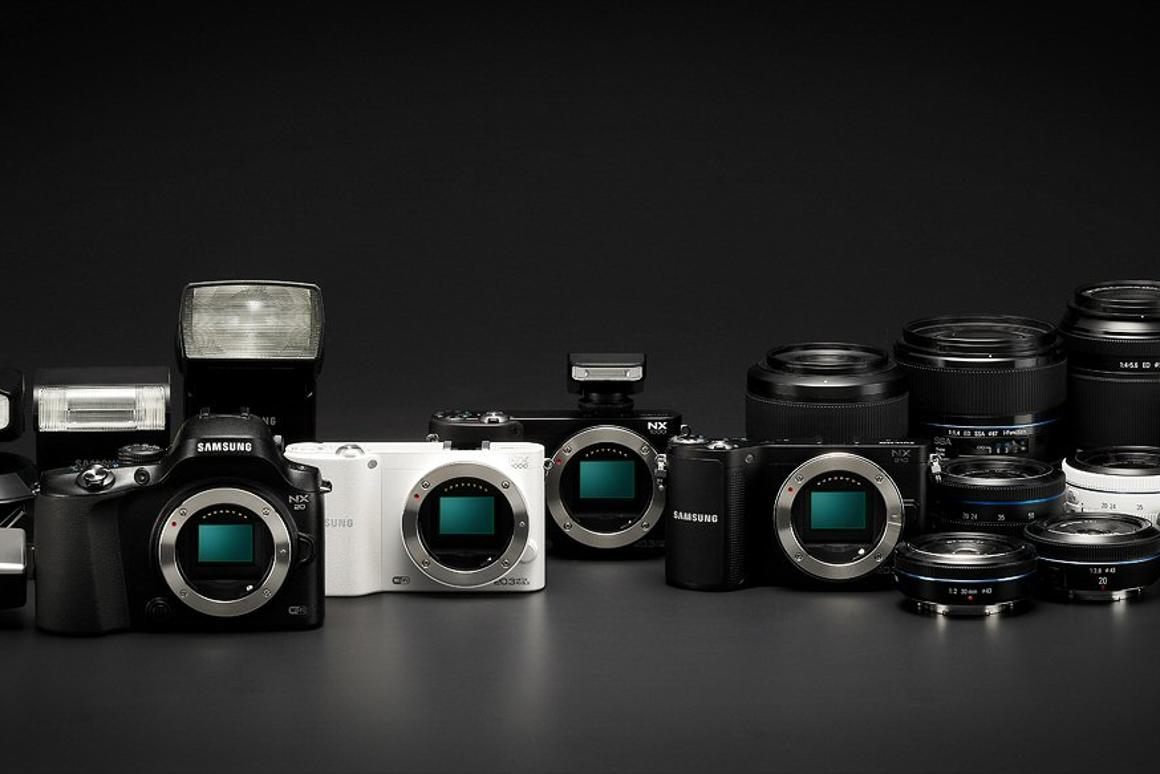 Three new NX Series cameras come with built-in Wi-Fi