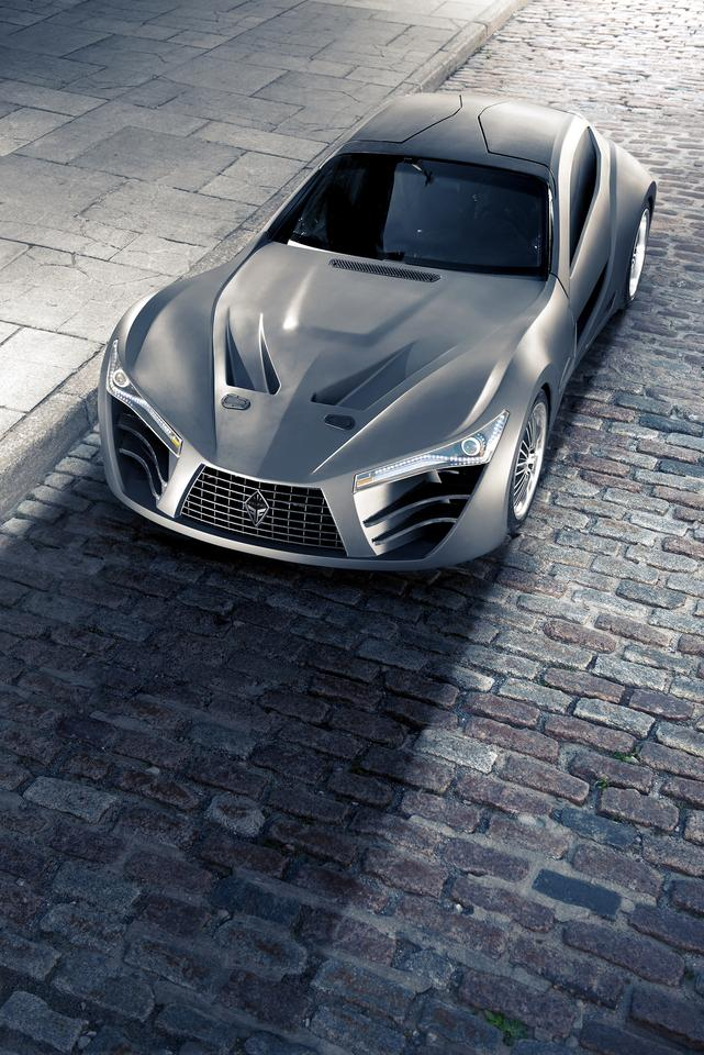 The FELINO cB7 is a supercar design from Quebec