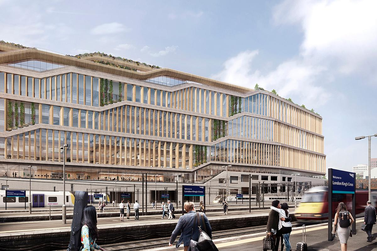 Google's new King's Cross HQ will have space for 686 bicycles but just four car parking spaces
