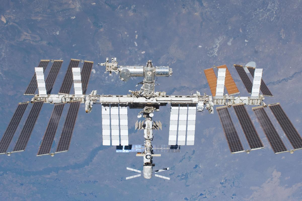 Ultrasonic sensors could help detect air leaks on the ISS (Photo: NASA)