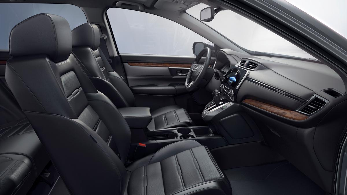 Honda says the new CR-V has a more luxurious cabin than before