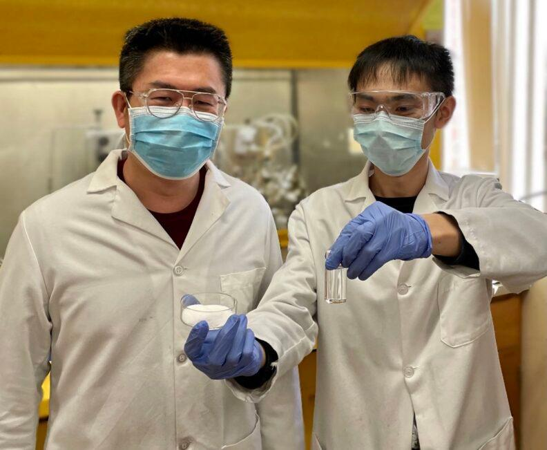 Researchers Hongfei Lin and Chuhua Jia have developed a new technique for recycling plastics, which reduces it to the building blocks for jet fuel and other products