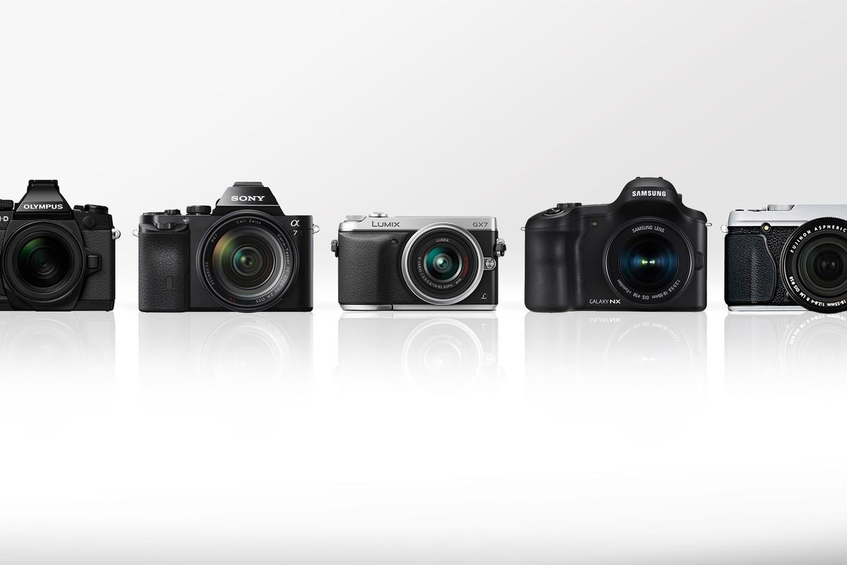 Gizmag compares some of the best mirrorless cameras on the market