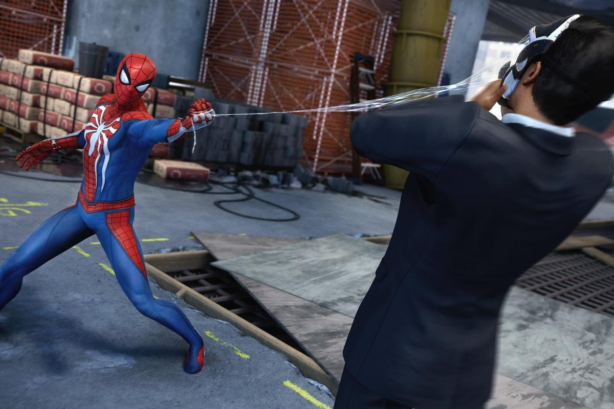Sony closed its E3 show with an extended look at a new Spider-Man game
