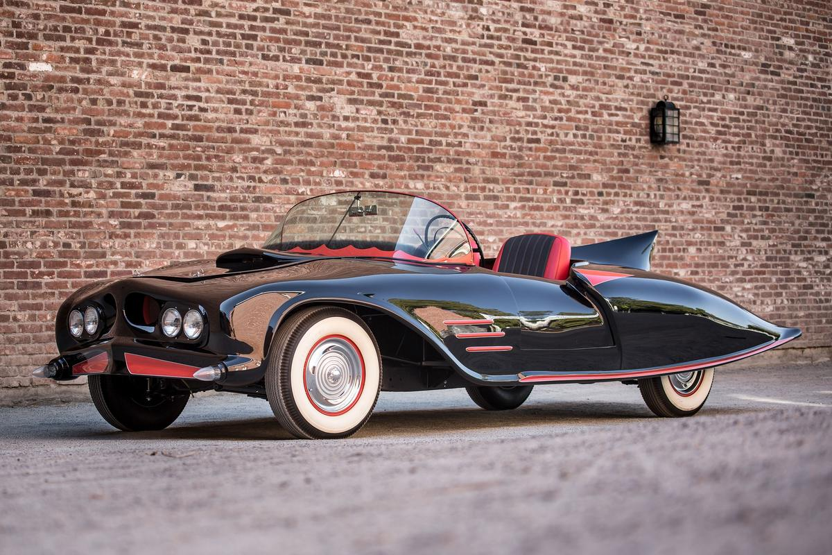 The 1963 Batmobile goes on auction next month