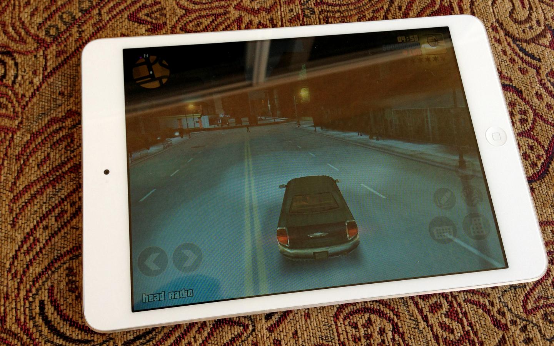 The iPad mini handled GTA 3 just fine