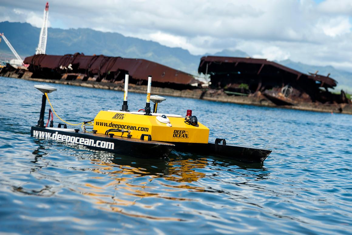 3D mapping project to monitor changes in sunken Pearl Harbor