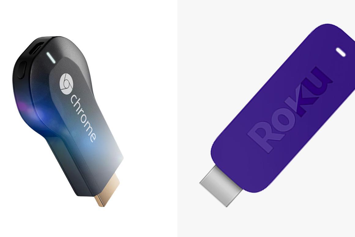 Chromecast vs  Roku Streaming Stick: A hands-on look