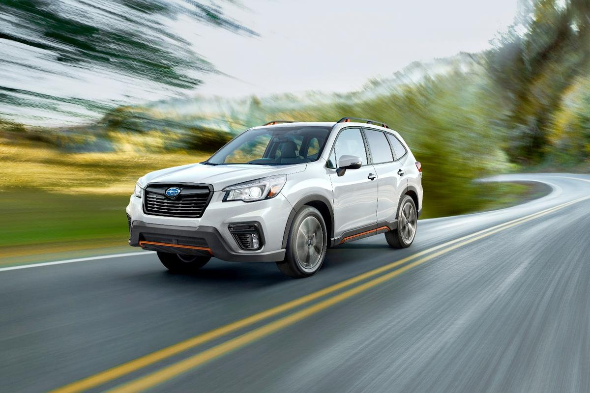 The exterior of the 2019 Subaru Forester features a new design that is more rugged and contemporary to the segment