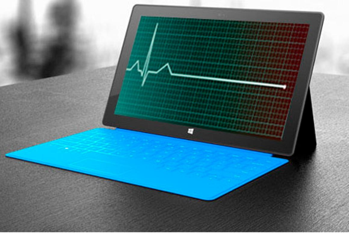 Have Surface sales already flatlined? (partially sampled from Shutterstock)