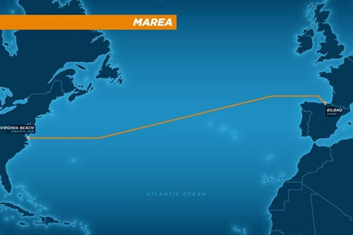 Microsoft and Facebook are planning to build a cable across the Atlantic Ocean, with an estimated initial data capacity of 160 terabits per second