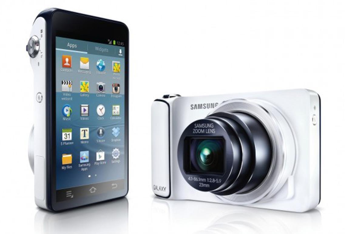 Samsung's hybrid GALAXY Camera