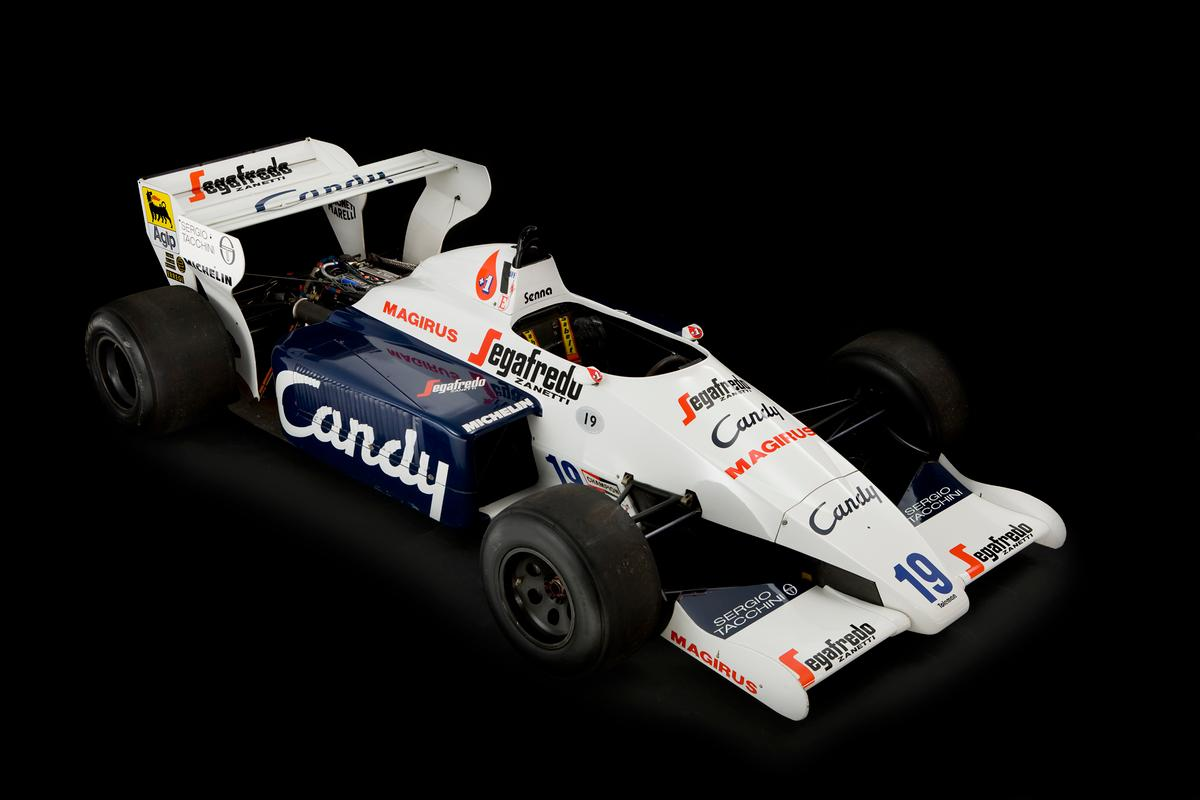 Ayrton Senna's Toleman TG184-2 F1 car up for sale