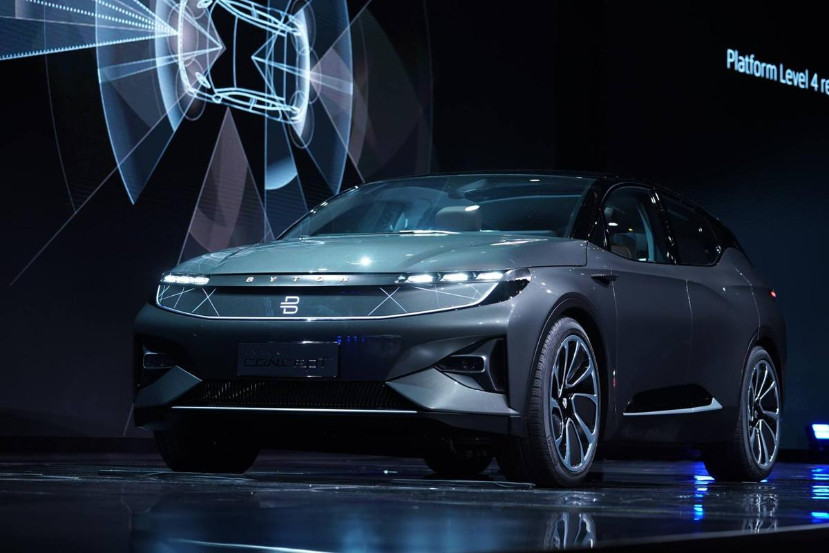 Previewed on this concept SUV,Byton's electric vehicleplatform will underpin several different vehicles