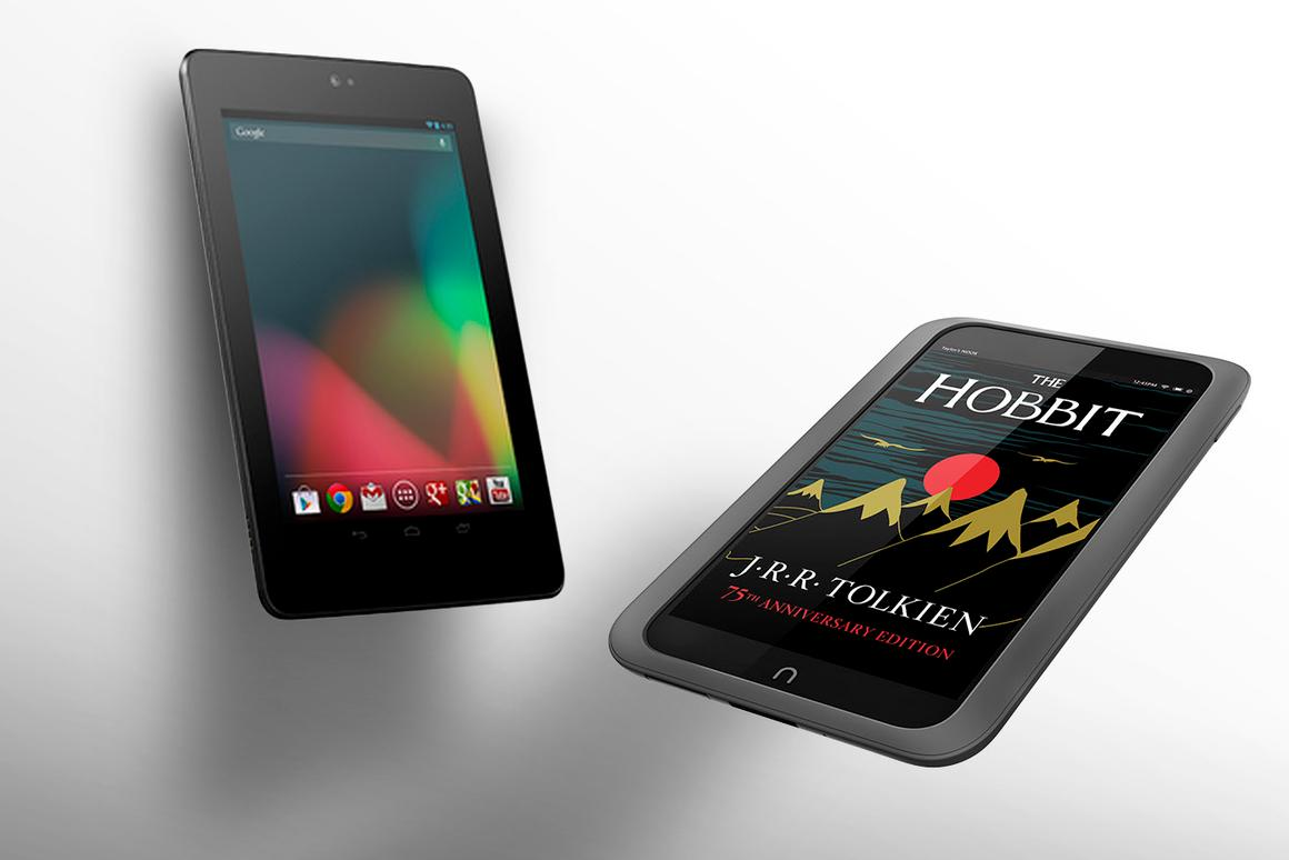 How does the Nook HD compare to the Nexus 7?