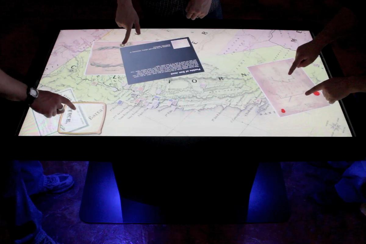 The new MT55 HD Multitouch Table from Ideum features a 55-inch high definition LCD display with a solid state multi-touch system, and is powered by a quad-core processor and NVIDIA graphics
