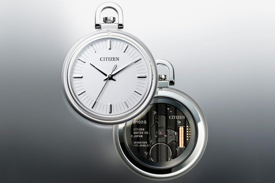 The Citizen Caliber 0100 has sapphire crystals front and back